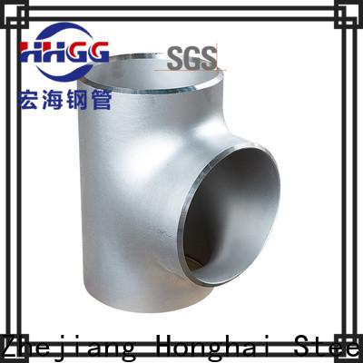 HHGG stainless steel socket weld pipe fittings factory bulk production