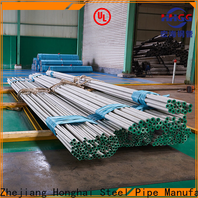 HHGG High-quality thick wall stainless tubing factory