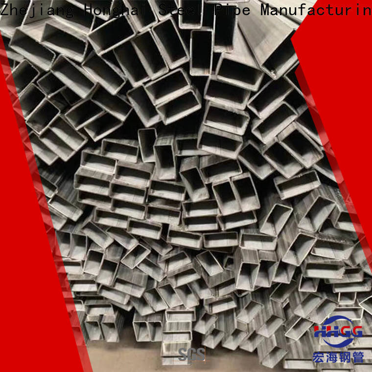 Latest ss rectangular pipe for business for sale