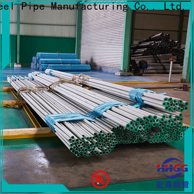 HHGG Wholesale stainless steel pipe tube Supply for sale
