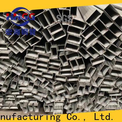 HHGG Top stainless steel rectangular tube factory bulk production