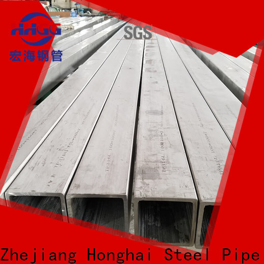 High-quality 316 stainless steel square tubing manufacturers bulk production