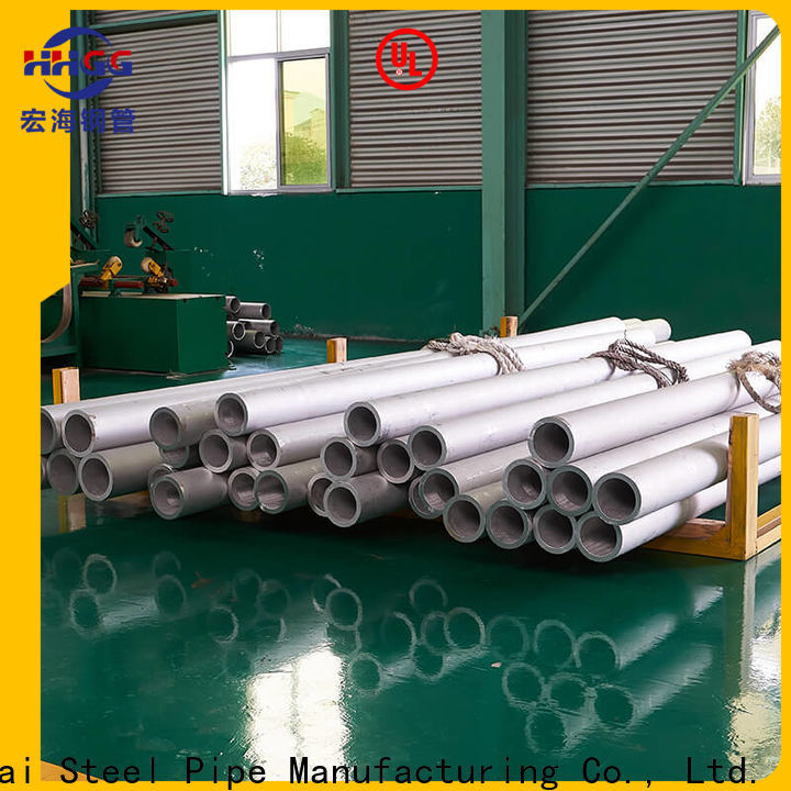 HHGG stainless steel round tube manufacturers for sale