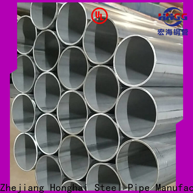 HHGG Wholesale welded stainless steel tube manufacturers bulk production