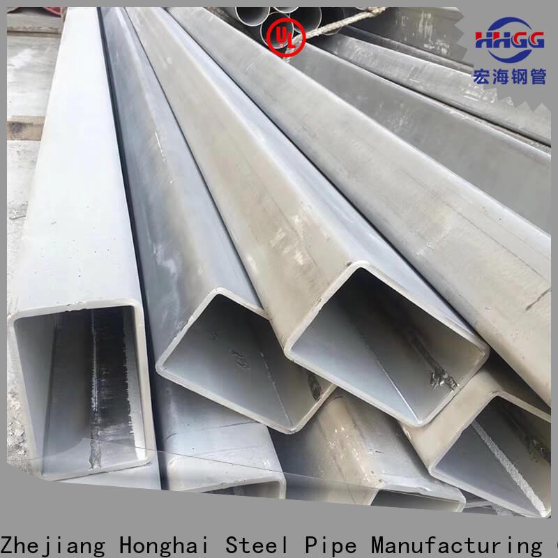 HHGG High-quality stainless rectangular tube manufacturers