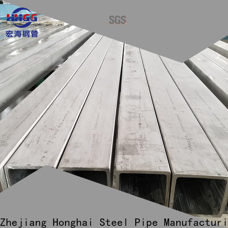 High-quality stainless square tube factory bulk production