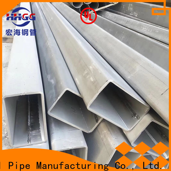 HHGG Wholesale ss rectangular pipe Suppliers for sale