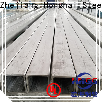 HHGG High-quality ss square tube Supply bulk production