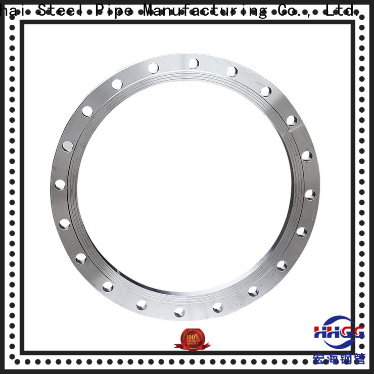 HHGG Latest stainless pipe flanges factory for promotion