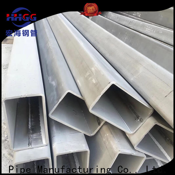 Top stainless rectangular tube for business for promotion