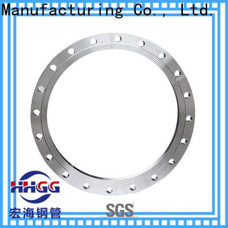 HHGG stainless steel tube flanges company bulk production