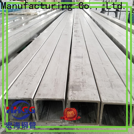 Latest stainless steel square pipe price manufacturers on sale