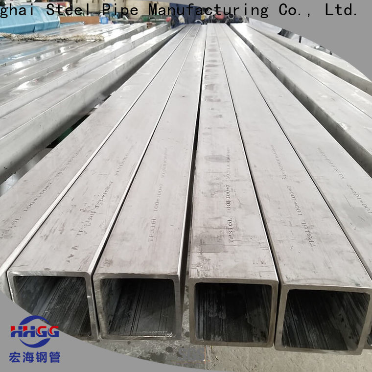 New stainless steel square pipe price for business bulk buy