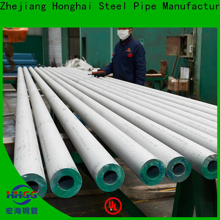 High-quality stainless steel round tube factory