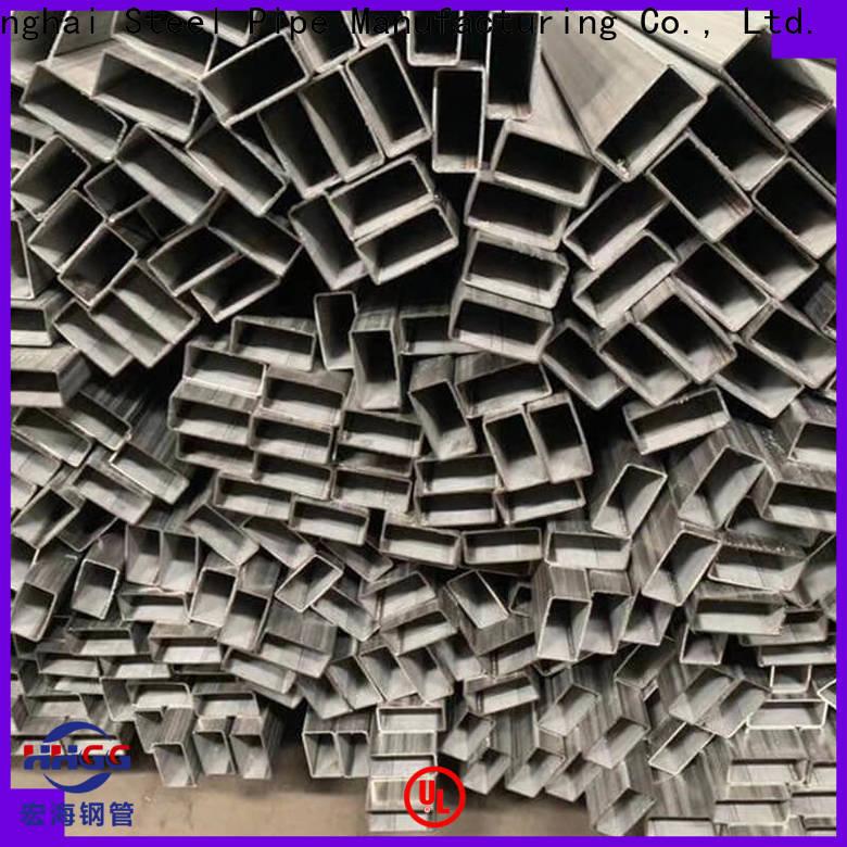 HHGG Wholesale stainless steel rectangular tube manufacturers