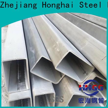 HHGG stainless steel rectangular pipe for business bulk buy