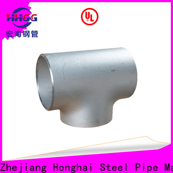 HHGG weldable pipe fittings manufacturers bulk production