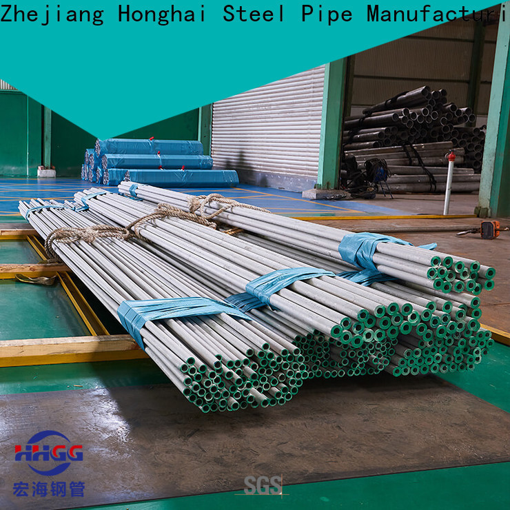 HHGG Top stainless steel round tube manufacturers
