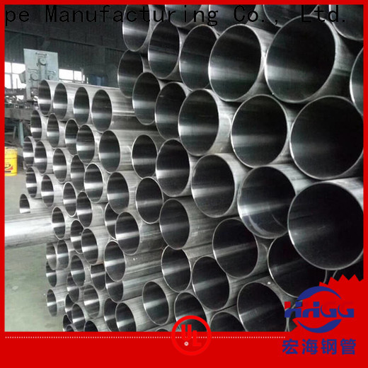 HHGG Custom stainless steel welded pipe Supply on sale
