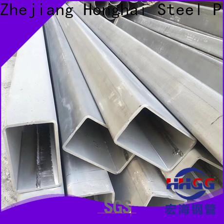 Latest stainless steel rectangular tube Supply bulk production