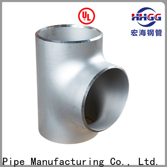 HHGG Custom stainless steel pipe fittings manufacturers Supply for sale
