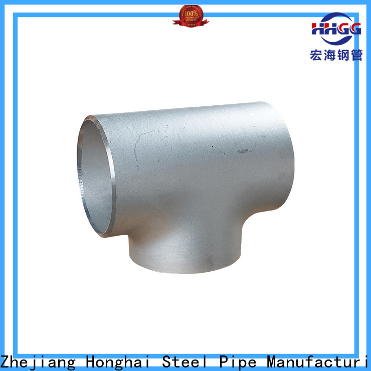 HHGG Latest stainless steel plumbing pipe fittings company on sale