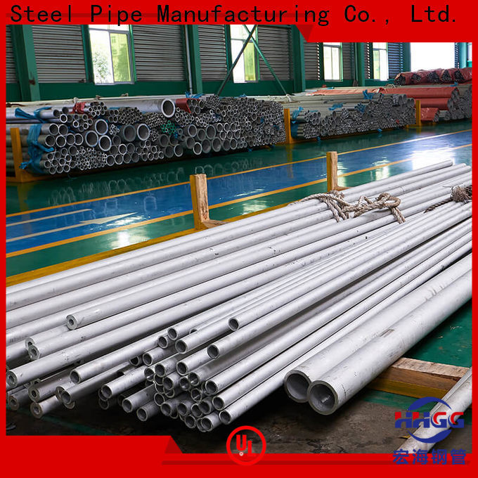 HHGG Wholesale stainless steel seamless tube manufacturers factory bulk production