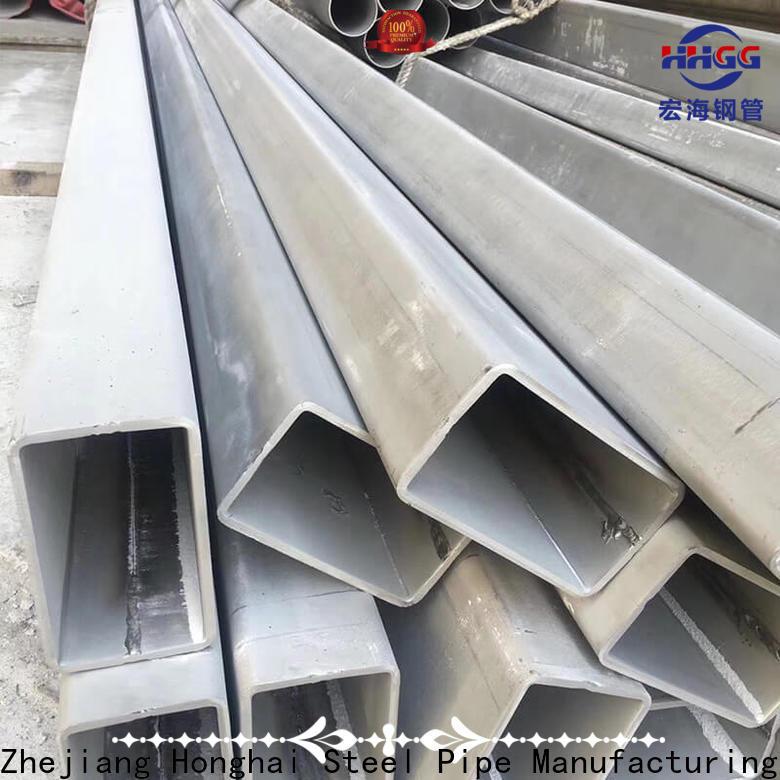 HHGG stainless steel rectangular tube manufacturers bulk production
