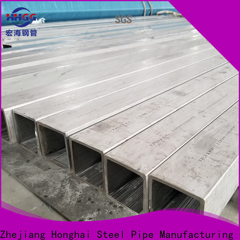 New polished stainless steel square tubing for business for sale