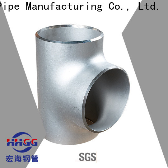 HHGG New stainless pipe fittings company for promotion