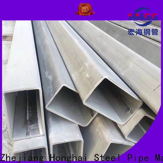 HHGG Custom ss rectangular tube Supply bulk buy