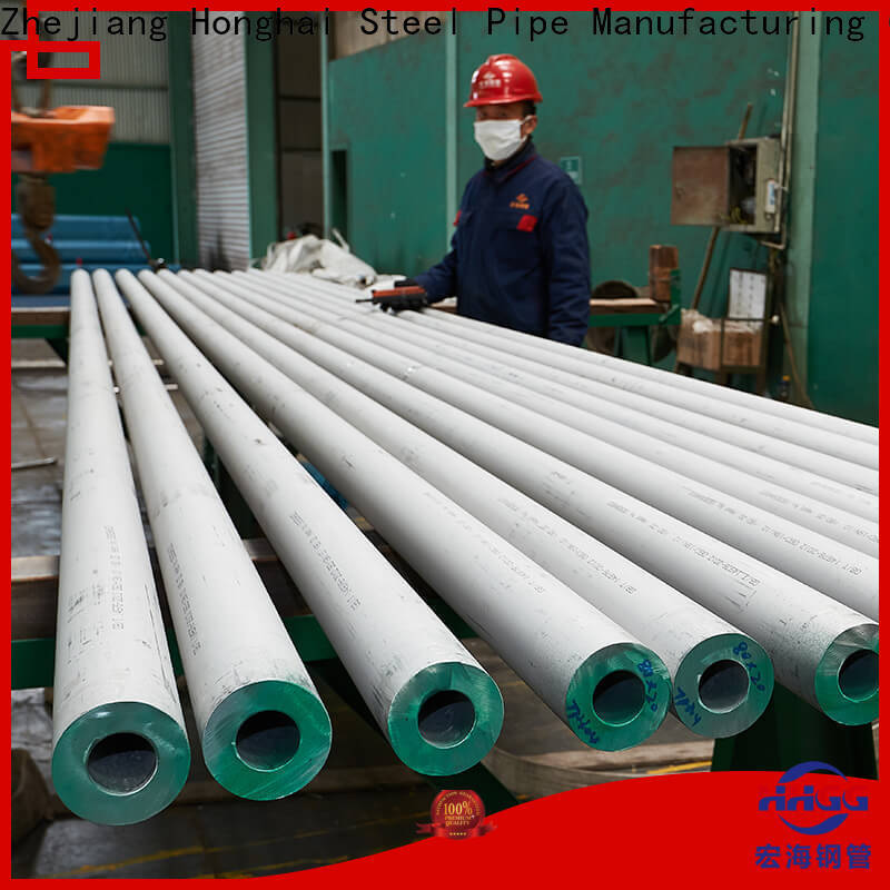 HHGG Top round stainless steel pipe company on sale