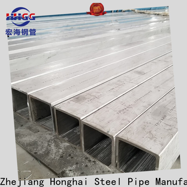Wholesale polished stainless steel square tubing for business for promotion
