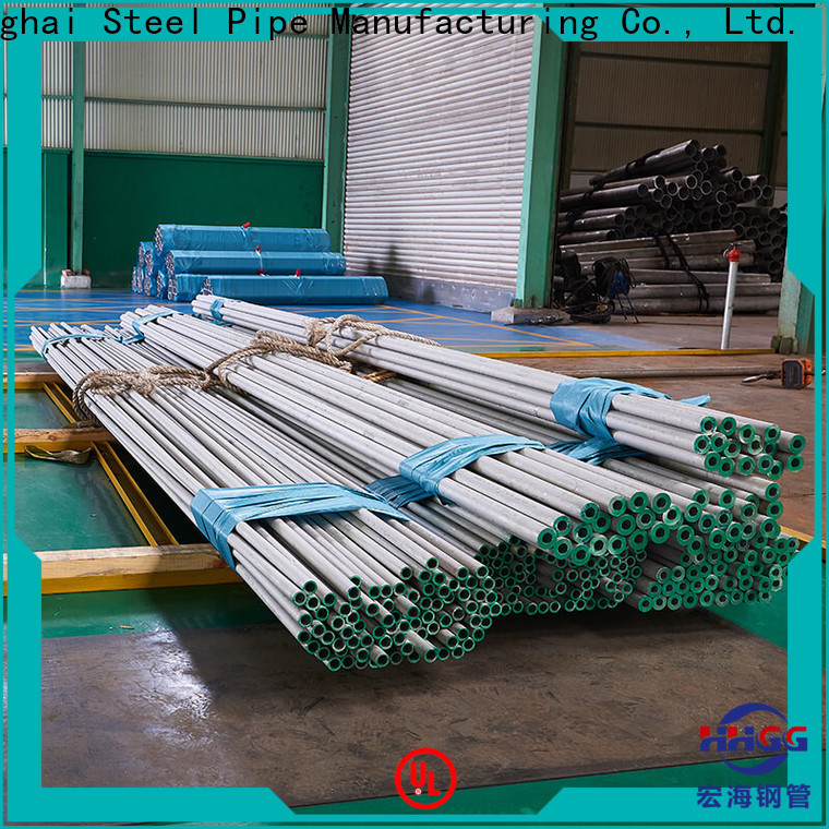 HHGG Latest round stainless steel pipe Supply for promotion