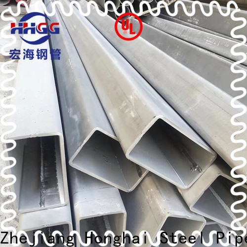 HHGG Wholesale rectangular steel tube suppliers factory for sale