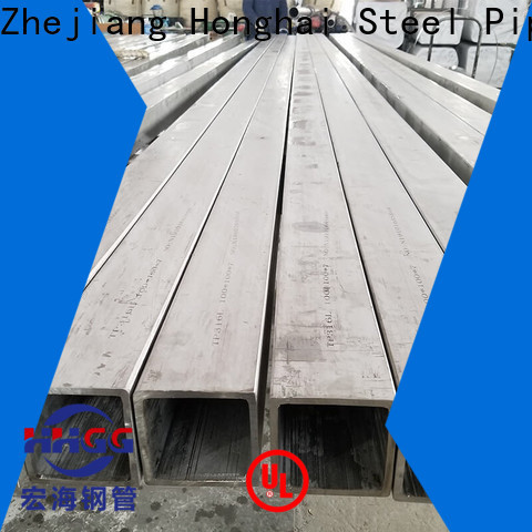 Custom 304 stainless square tubing Suppliers bulk production