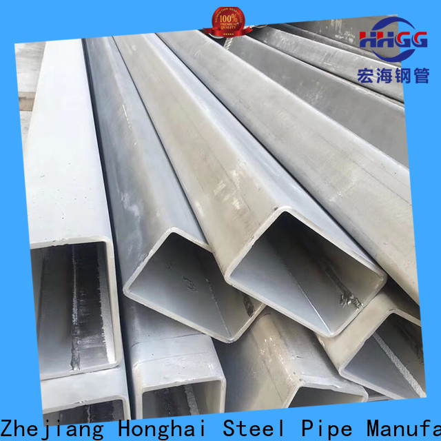 HHGG Wholesale ss rectangular pipe Supply for promotion