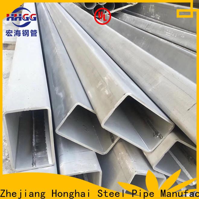 HHGG Latest stainless rectangular tube for business bulk production