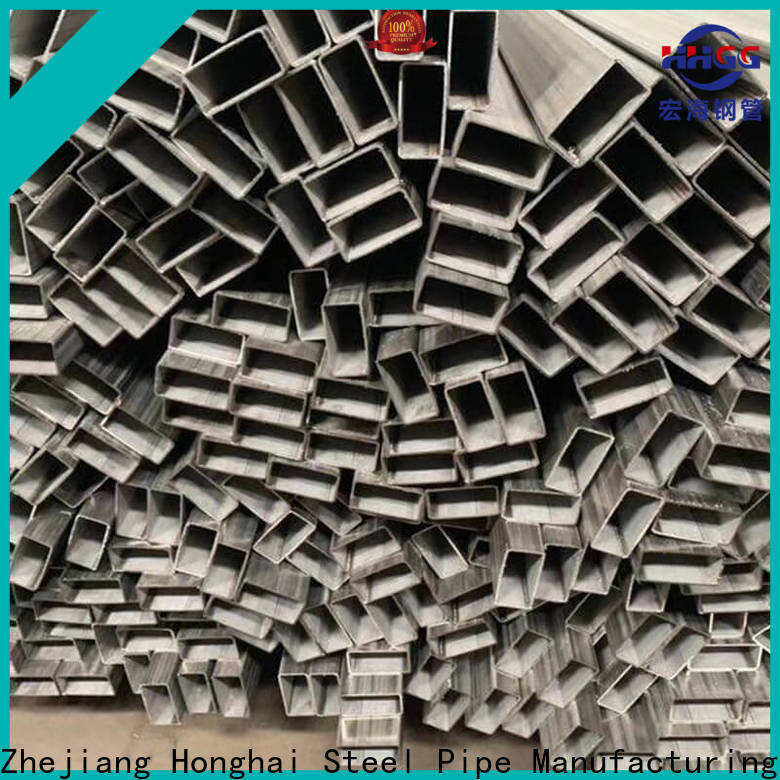 HHGG steel rectangular pipe manufacturers bulk production