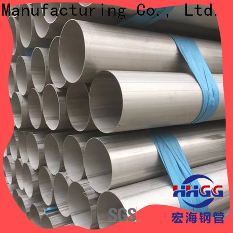 HHGG welded stainless steel pipe factory for sale