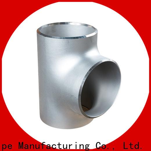 Custom welded steel pipe fittings for business bulk buy