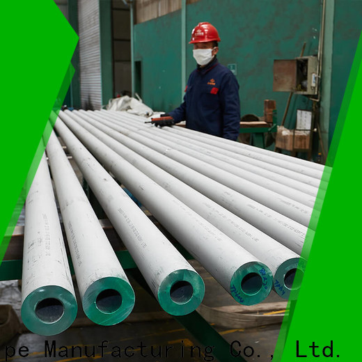 HHGG New stainless steel round tube company on sale